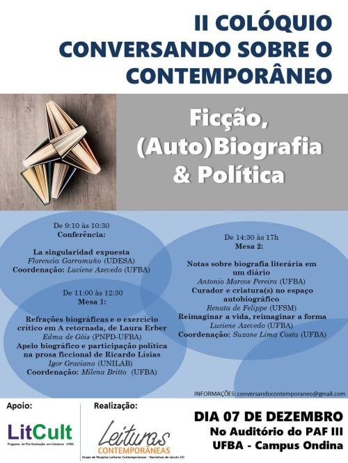 CARTAZ GP LEITURAS CONTEMPORÂNEAS NOVA IMAGEM II