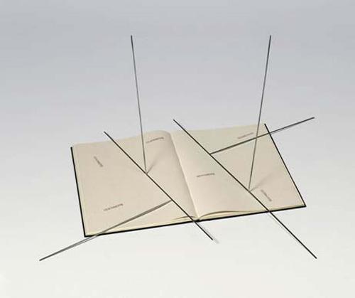 O livro Giacometti - Waltercio Caldas