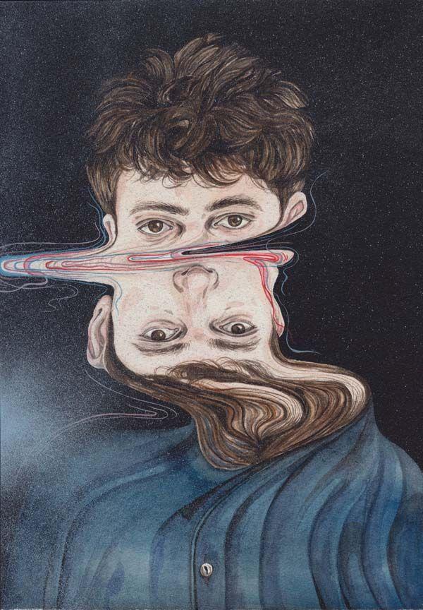 distorção e aquarela henrieta harris